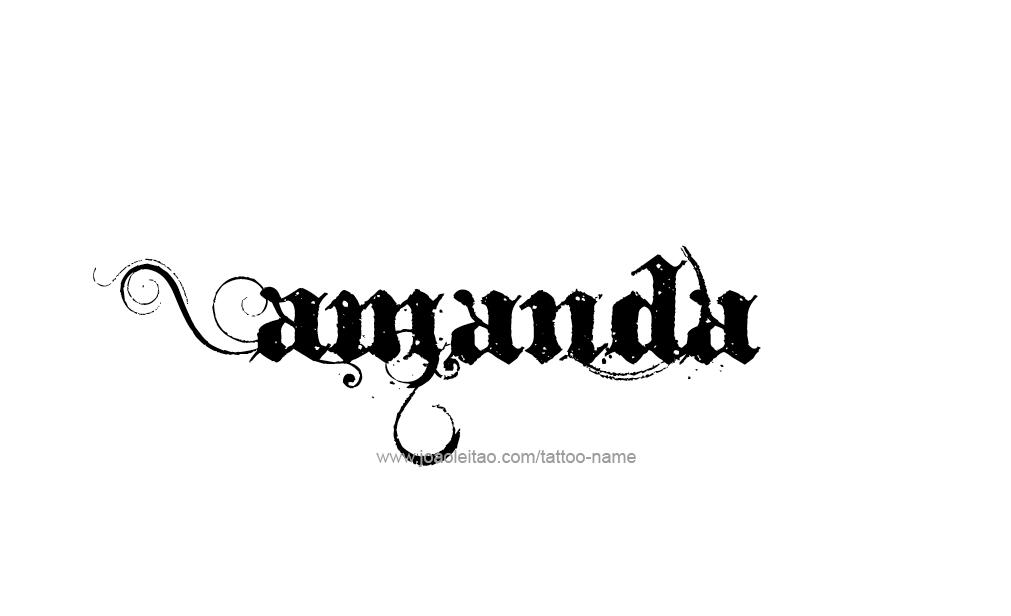amanda the name wallpaper - photo #12