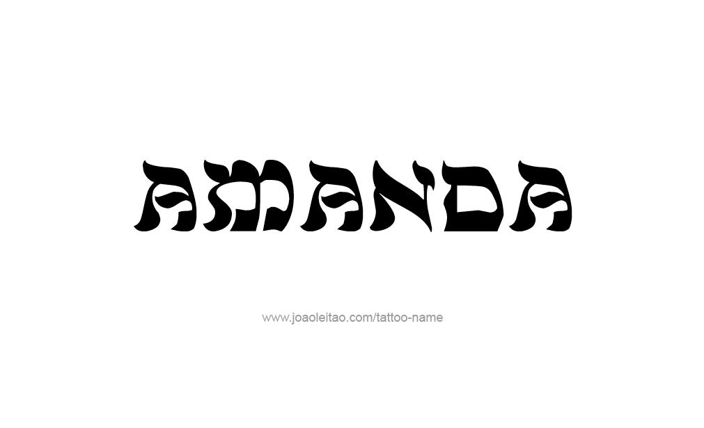amanda the name wallpaper - photo #11