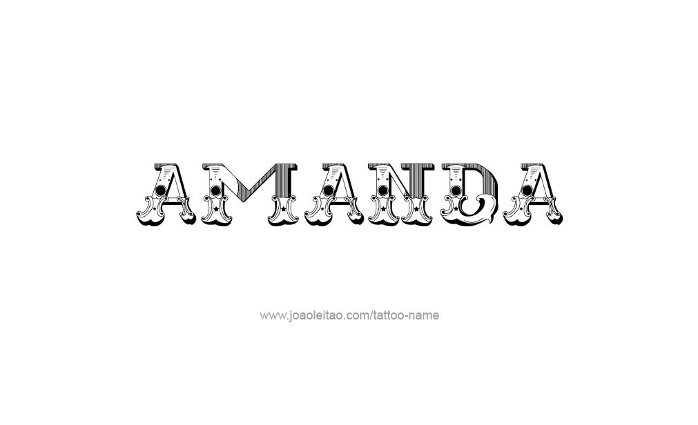 amanda the name wallpaper - photo #15