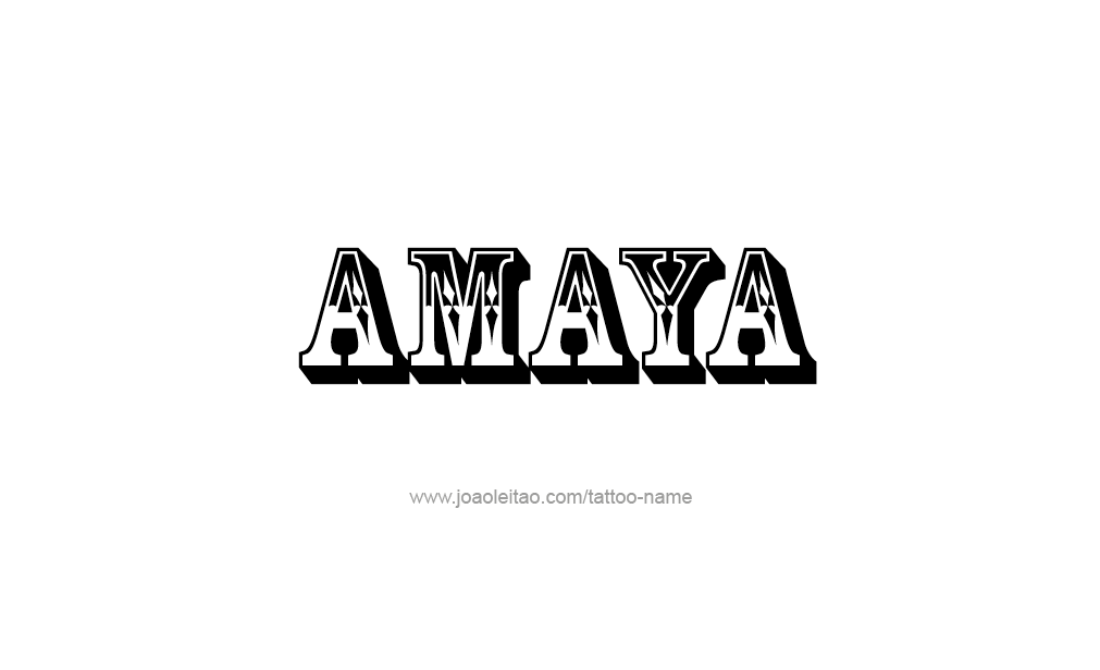 amaya vorname