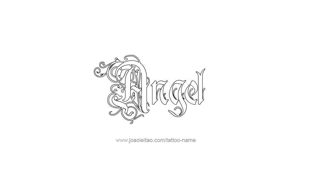 angel name designs images galleries with a bite. Black Bedroom Furniture Sets. Home Design Ideas