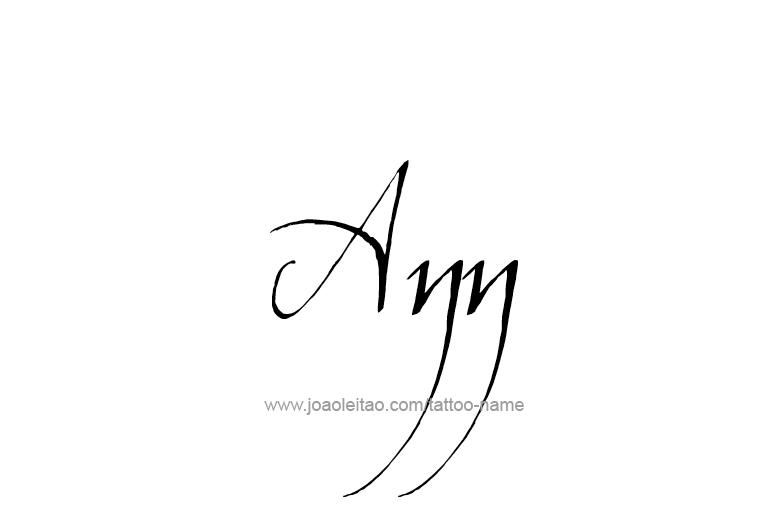 ann name tattoo designs. Black Bedroom Furniture Sets. Home Design Ideas