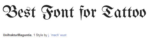 unifrakturmaguntia Font Style