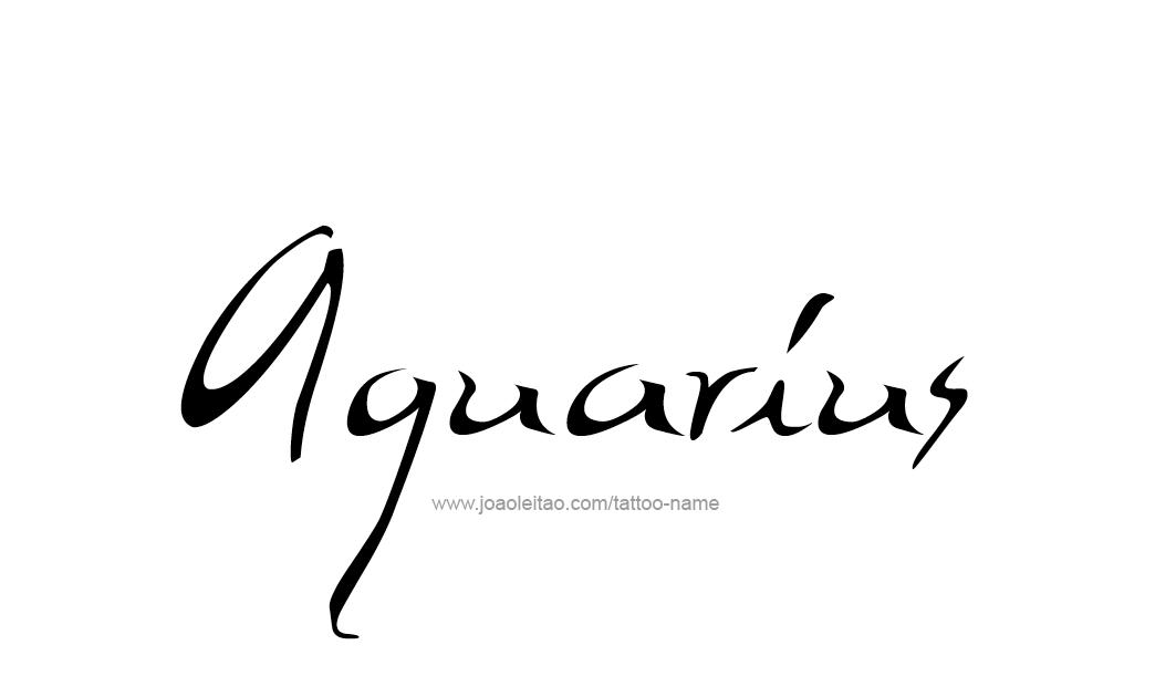Pin Aquarius Tattoosaquarius Tattooaquarius Tattoo Designsfree On