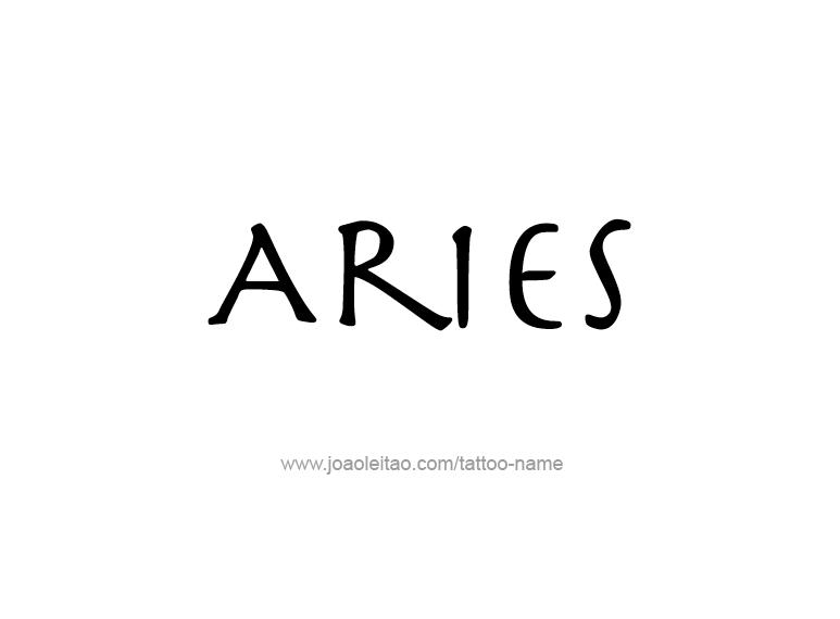 aries name aries horoscope name designs tattoos with names