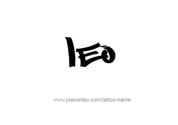 Leo Horoscope Tattoo Designs