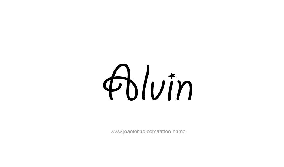 Alvin Name Wallpaper