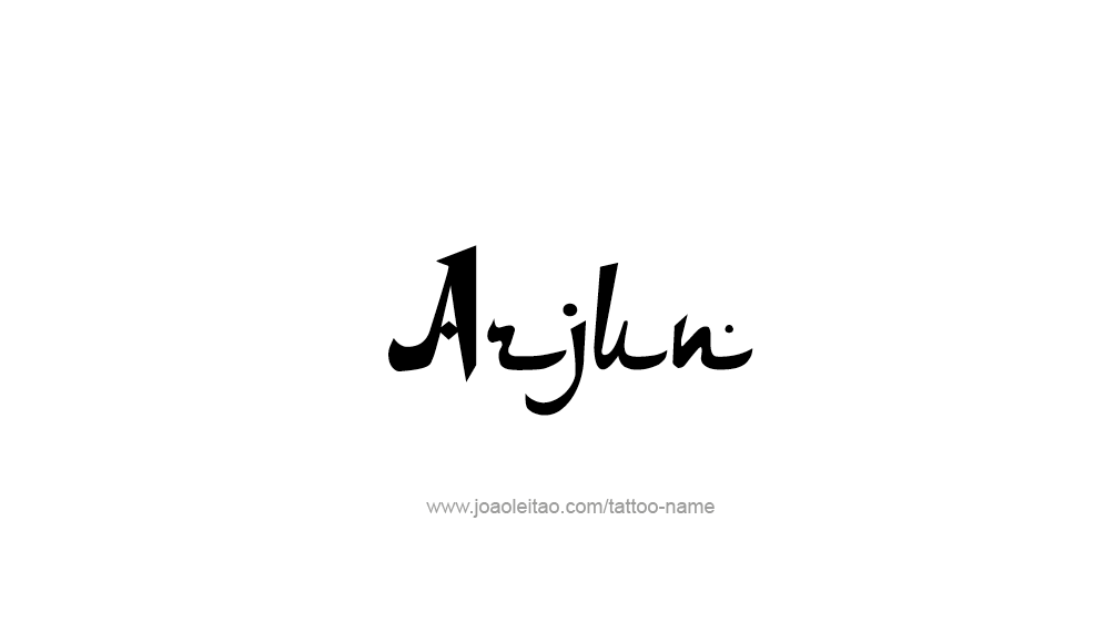arjun name tattoo designs. Black Bedroom Furniture Sets. Home Design Ideas