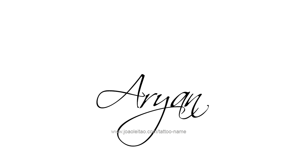 Aryan Tattoo Designs Aryan Name Tattoo Desi...