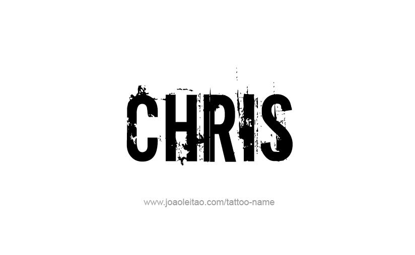 chris name - photo #1