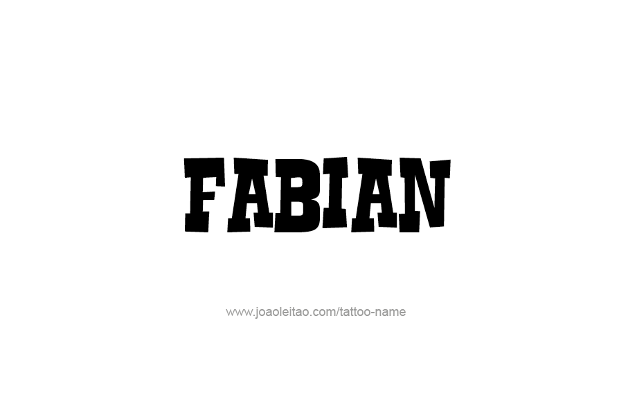 Fabian Name Wwwimgarcadecom Online Image Arcade