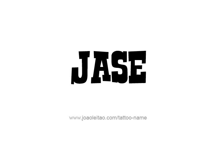jase name tattoo designs
