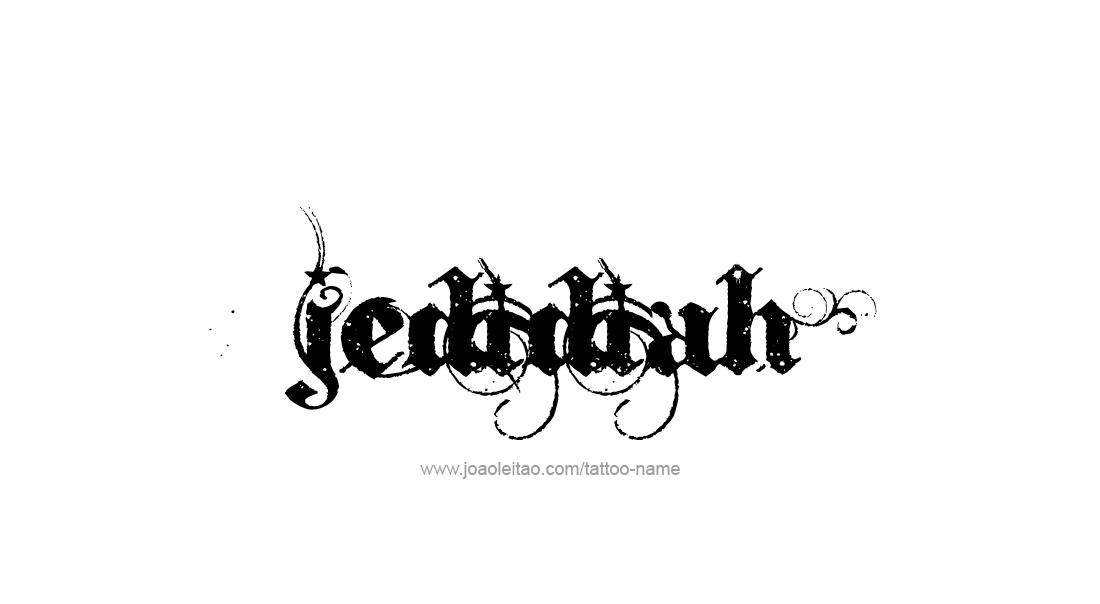 jedidiah name tattoo designs. Black Bedroom Furniture Sets. Home Design Ideas
