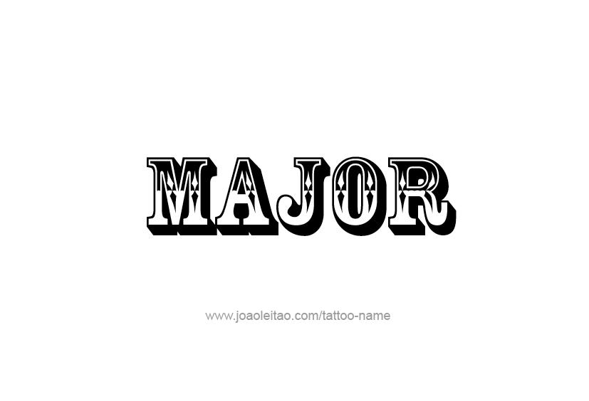 major name tattoo designs