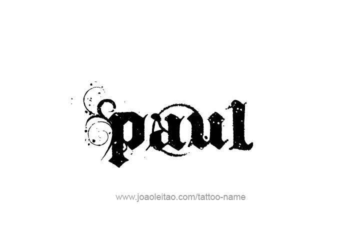 Tattoo designs name paul carrack