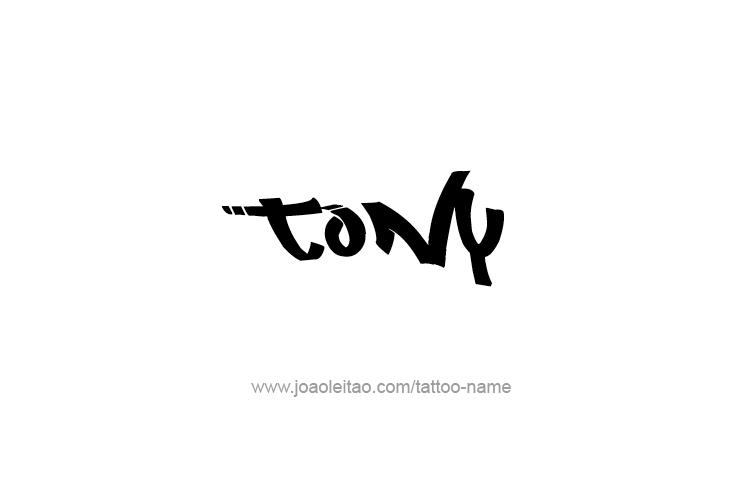 Car Rental Websites >> Tony Name Tattoo Designs