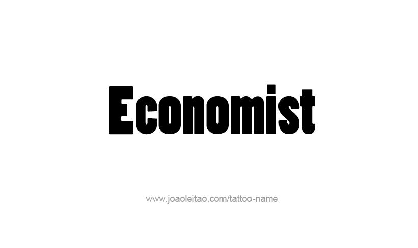 Economist profession name tattoo designs
