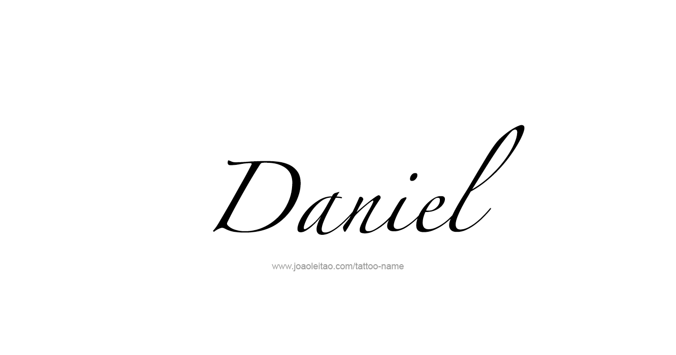daniel prophet name tattoo designs tattoos with names. Black Bedroom Furniture Sets. Home Design Ideas
