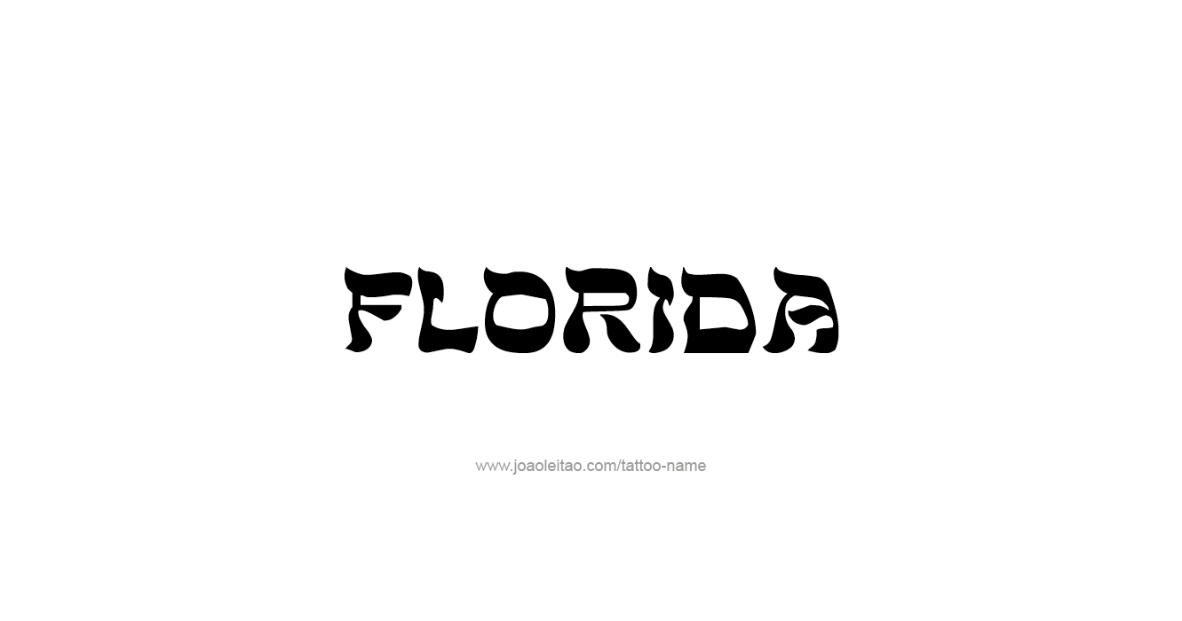 Florida Boy Tattoo Designs