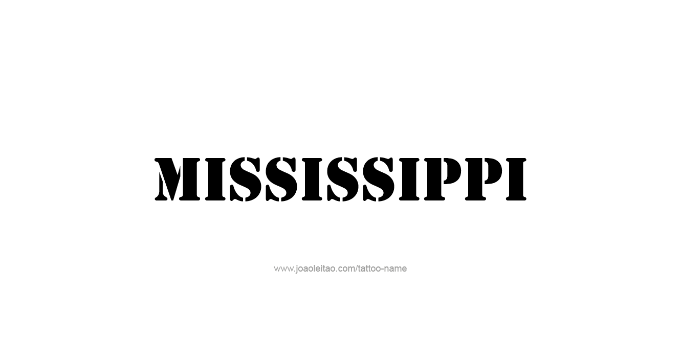 Mississippi State Information - Symbols, Capital ...