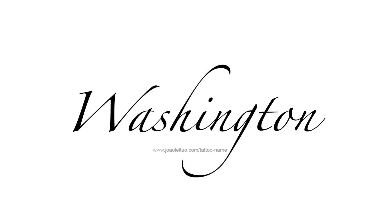 washington usa state name tattoo designs tattoos with names. Black Bedroom Furniture Sets. Home Design Ideas