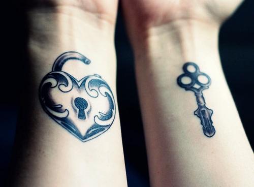 Female Wrist Tattoo - Pair of Wrist Tattoo Design