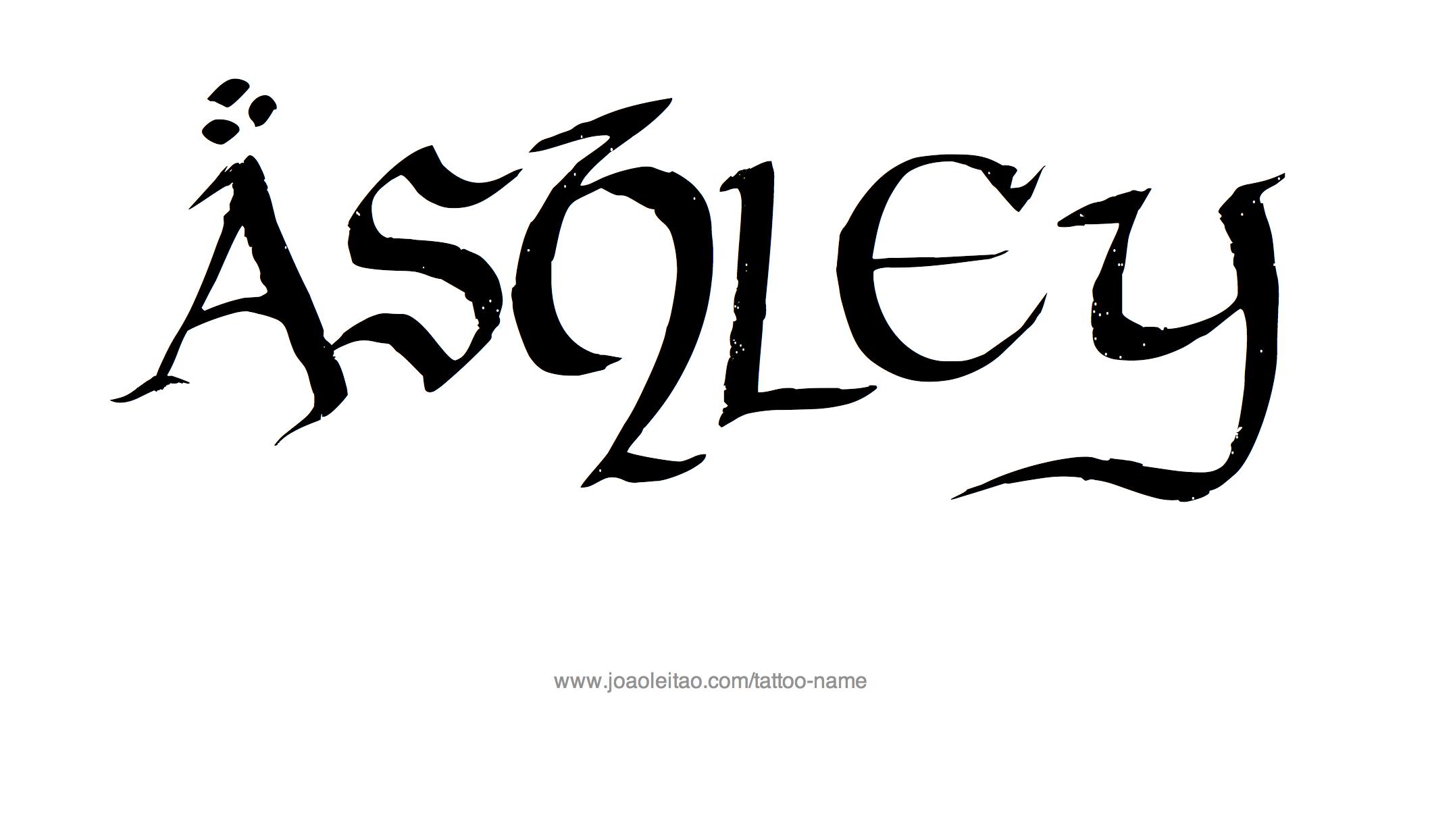 cursive tattoo name ashley rachael edwards. Black Bedroom Furniture Sets. Home Design Ideas