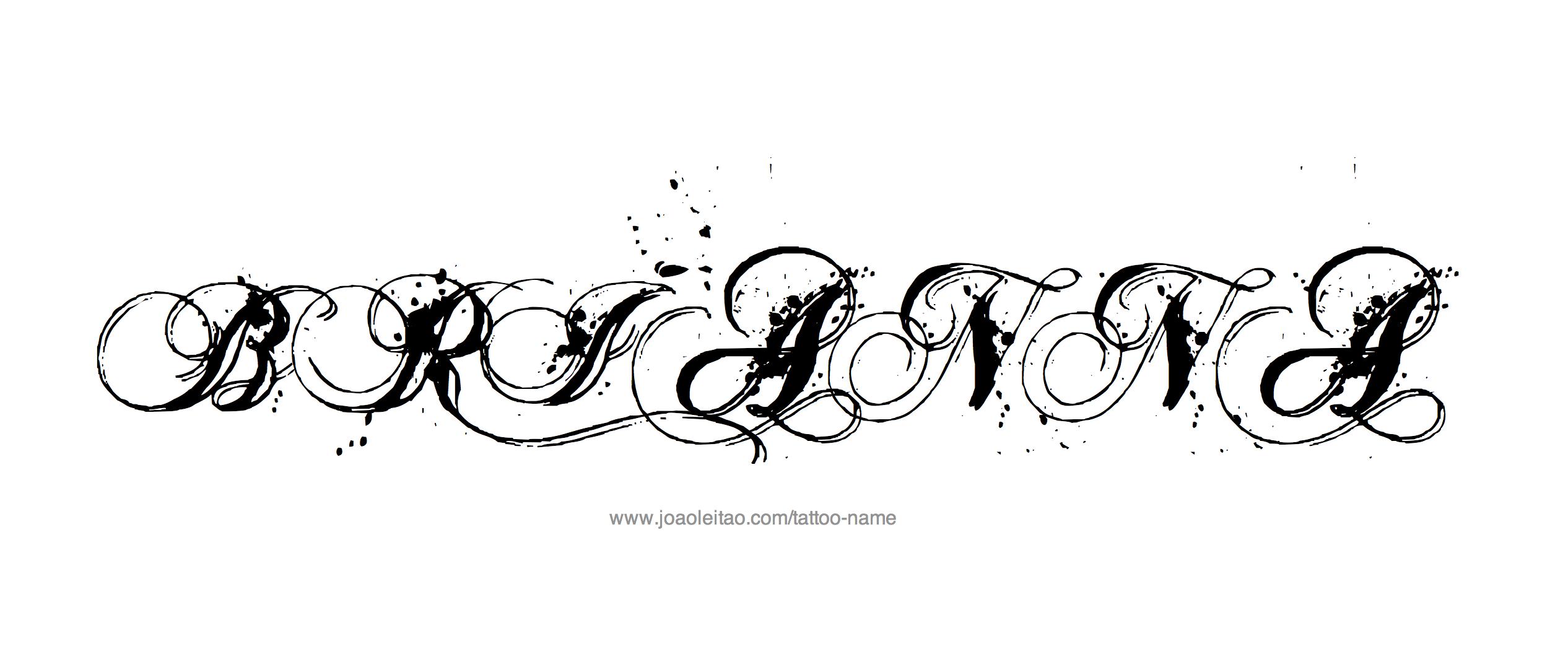 Name tattoo designs free - Tattoo Design Name Brianna