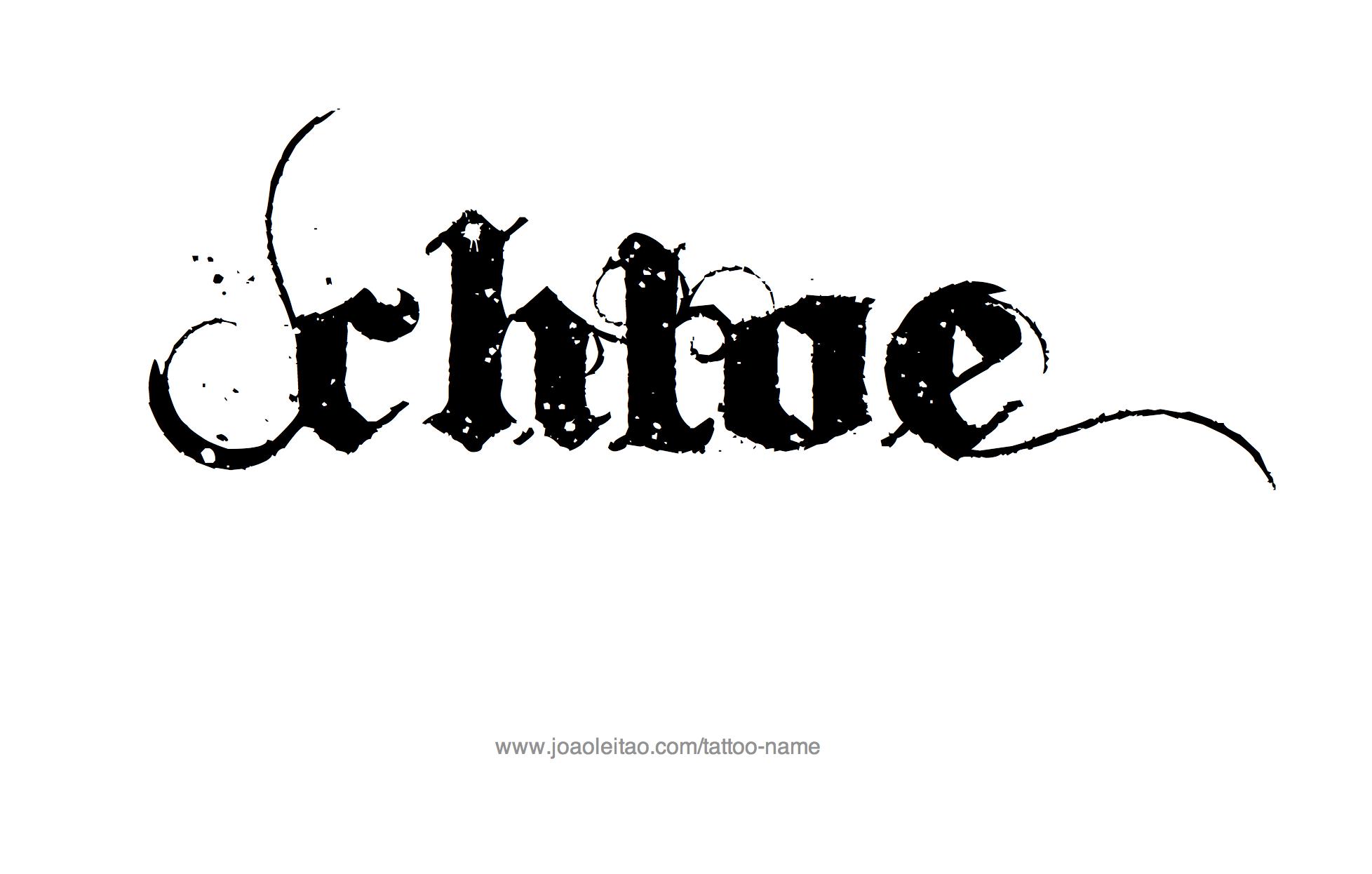 Simple Cursive Name Tattoo Designs Golfclub