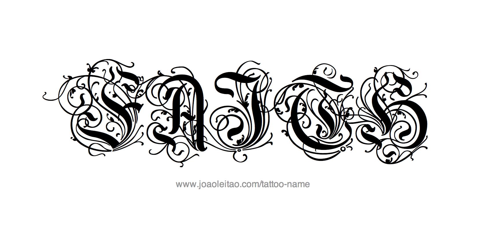 faith name tattoo designs