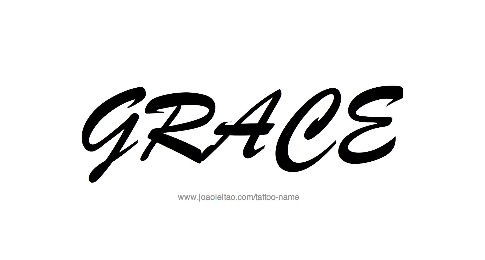 Grace name tattoo designs tattoo design name grace biocorpaavc Images