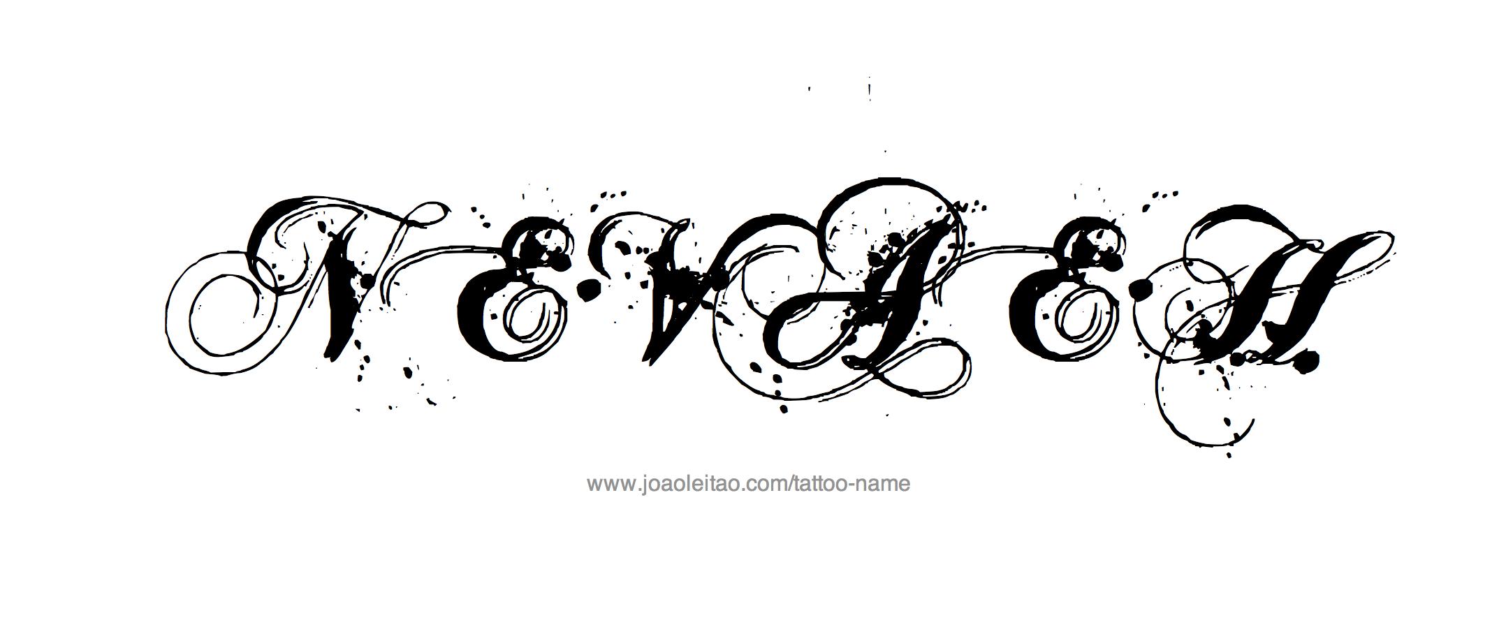 tattoo-design-female-name-nevaeh%20(27).png