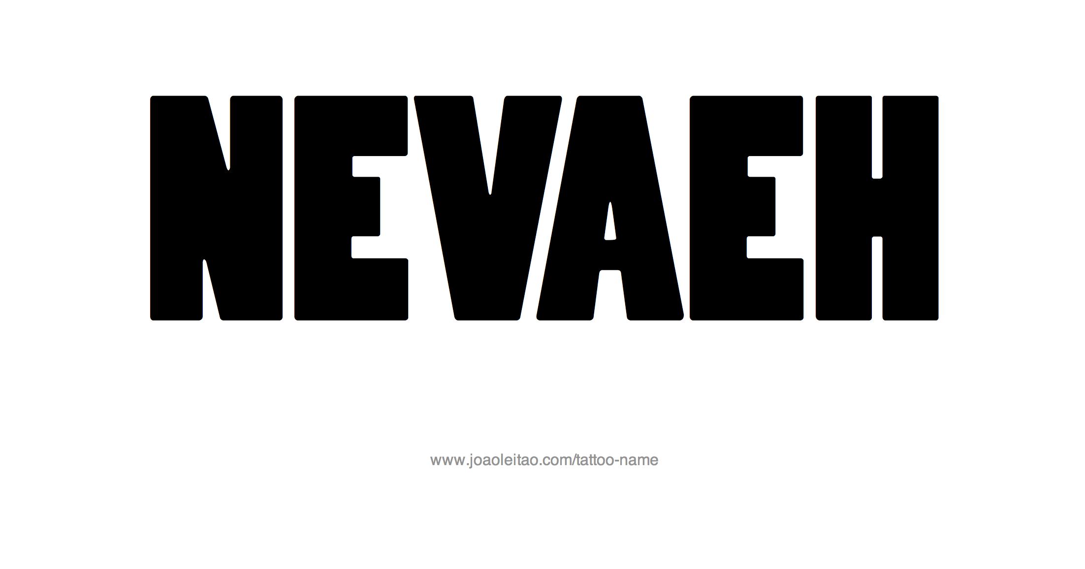 Nevaeh