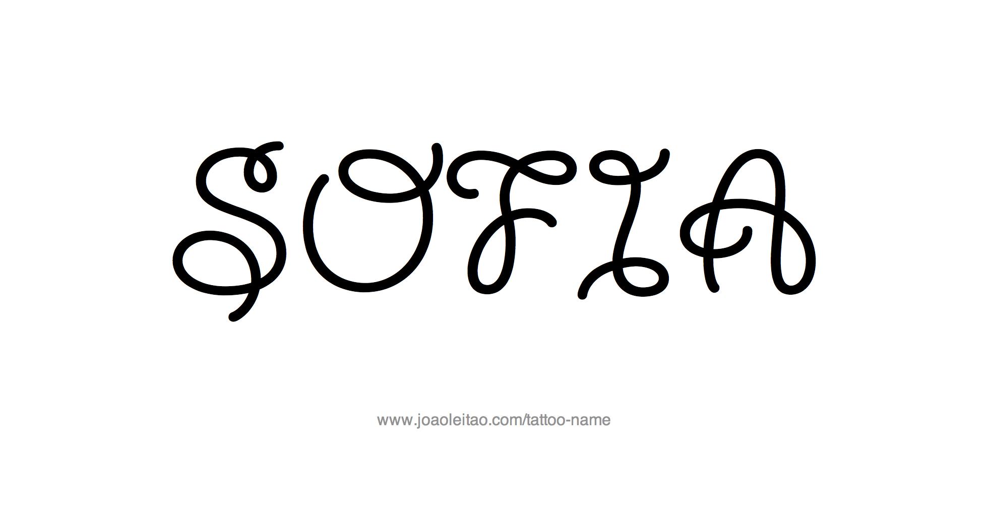 Sofia Name Tattoo Designs : tattoo design female name sofia2028629 from www.joaoleitao.com size 1960 x 1052 png 98kB