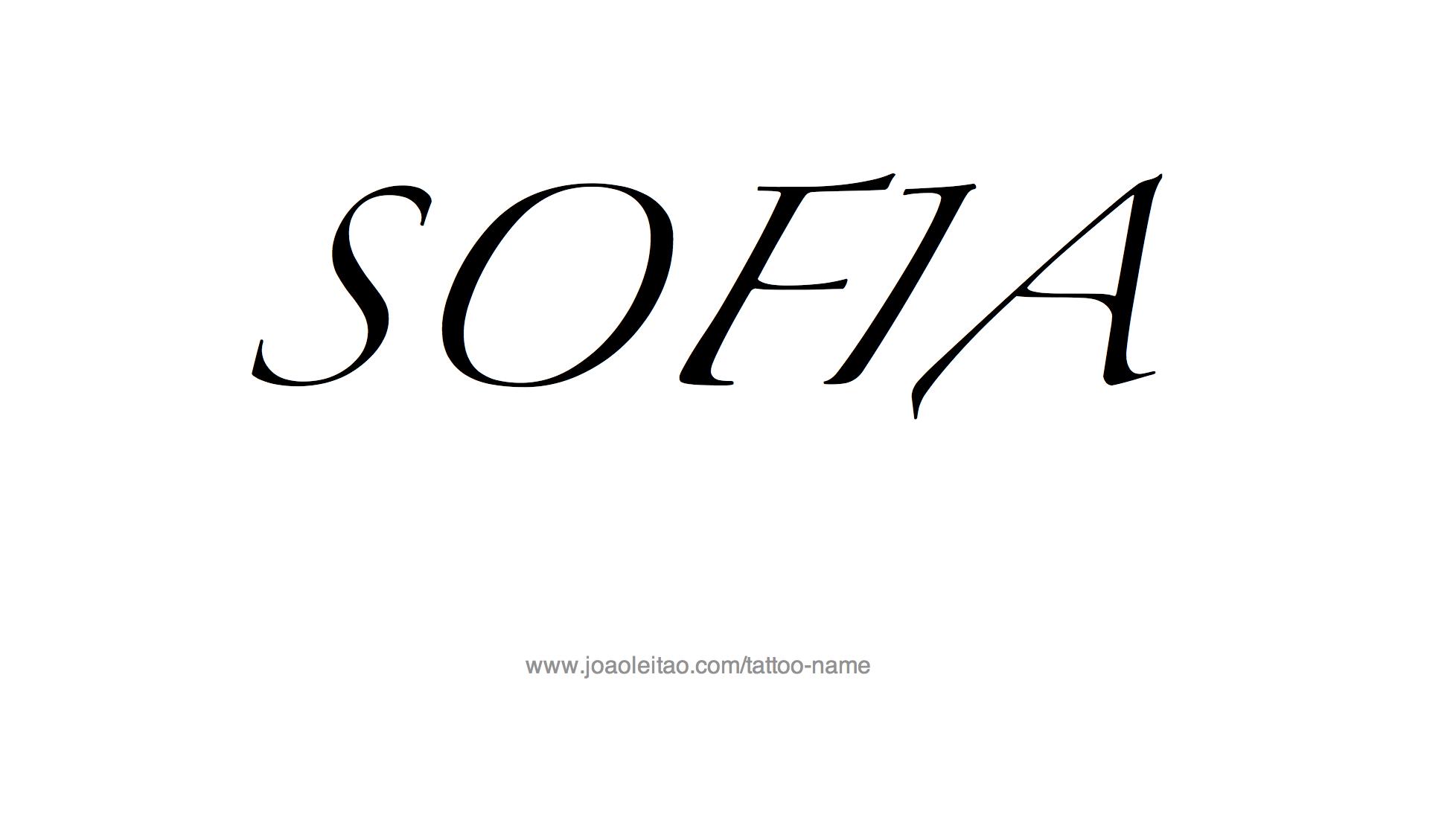 Sofia Name Tattoo Designs : tattoo design female name sofia2014 from www.joaoleitao.com size 1956 x 1098 png 79kB