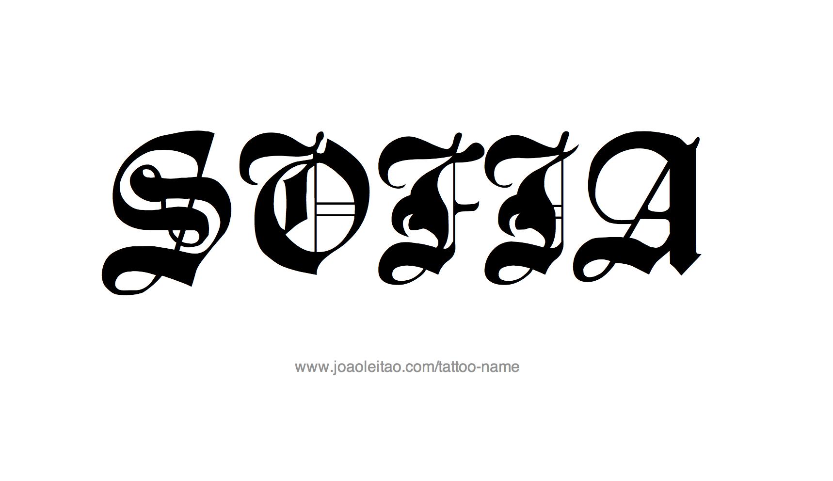 Sofia Name Tattoo Designs : tattoo design female name sofia2021 from www.joaoleitao.com size 1718 x 992 png 94kB
