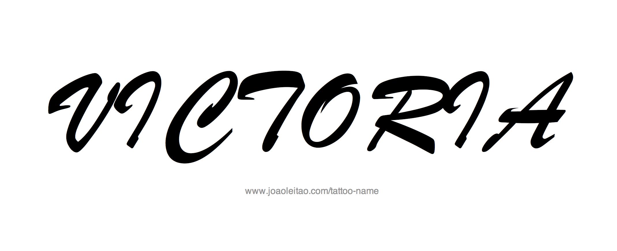 Татуировки с именем виктория на руке фото