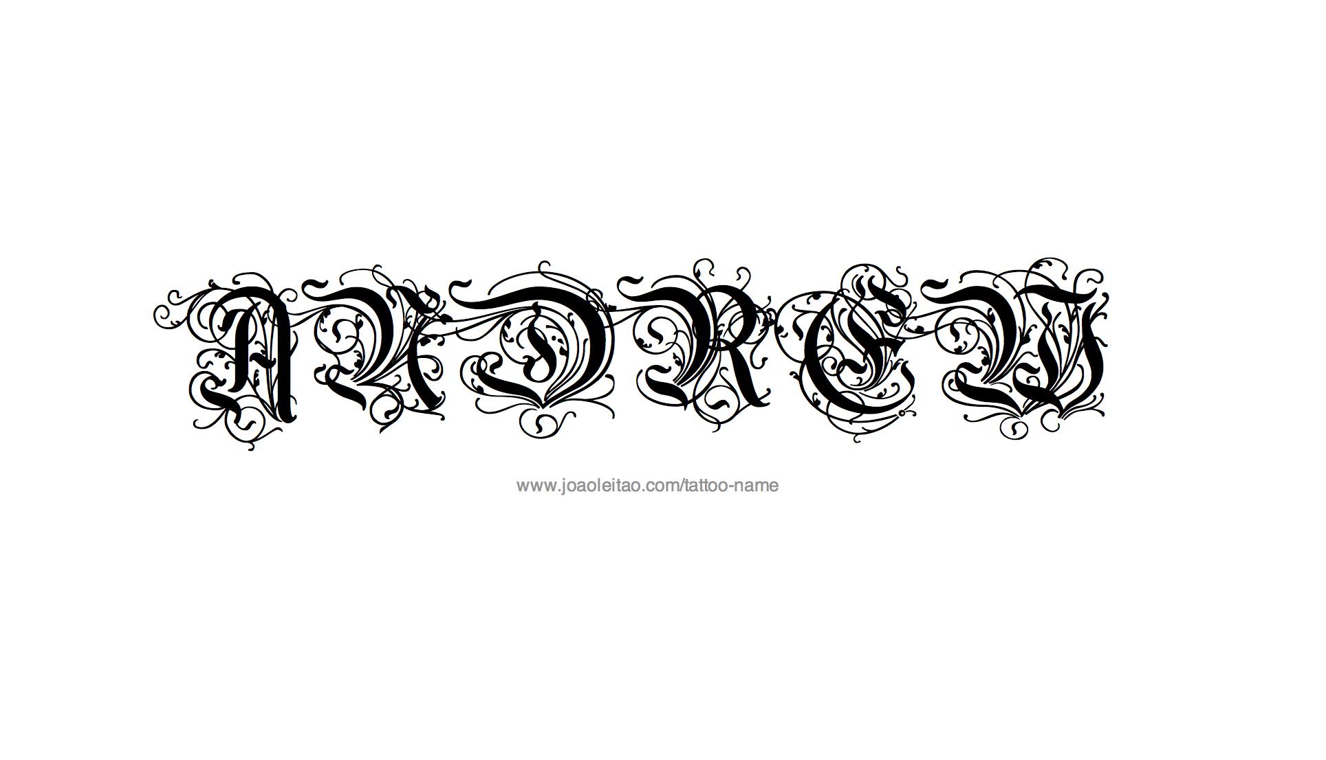 Name tattoo designs free - Name Tattoo Designs Free 37