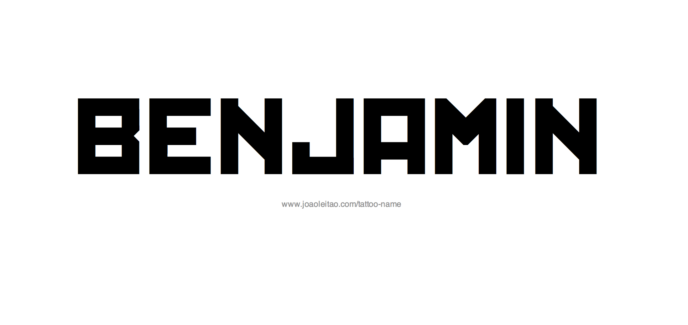 Benjamin Name