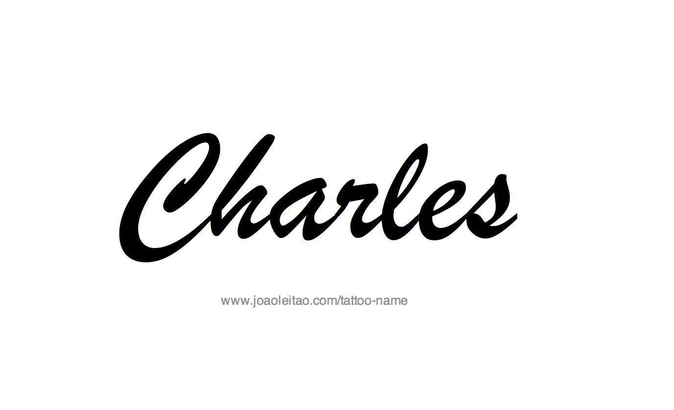 Name: Charles Name Tattoo Designs