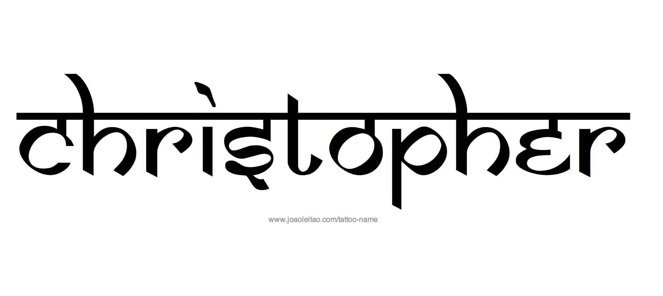 Christopher Name Art | www.pixshark.com - Images Galleries ...