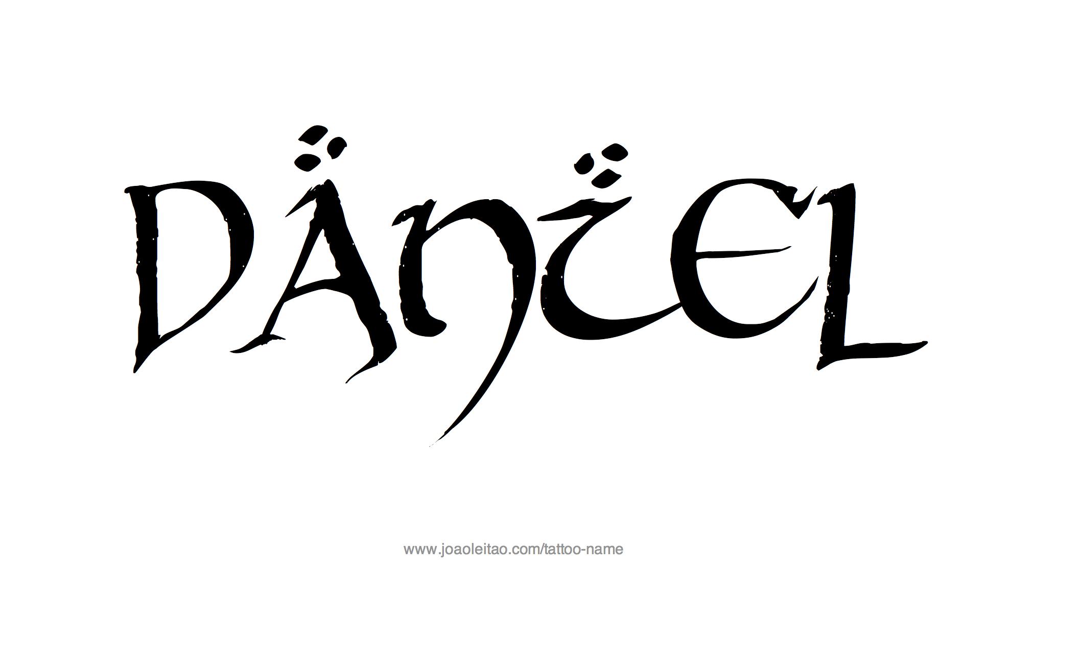 daniel name design pictures to pin on pinterest thepinsta. Black Bedroom Furniture Sets. Home Design Ideas