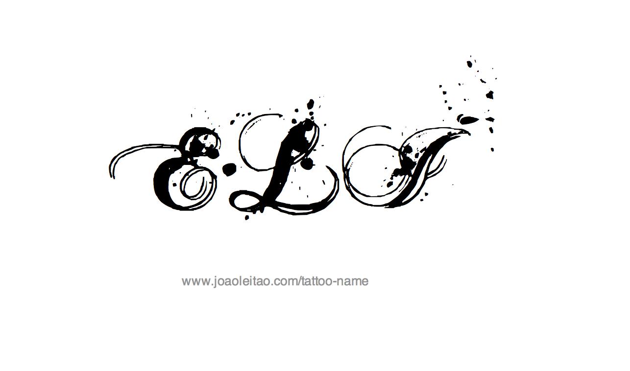 Tattoo Design Name Eli