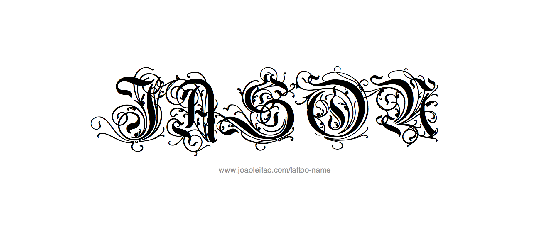 Jason Name Tattoo Designs