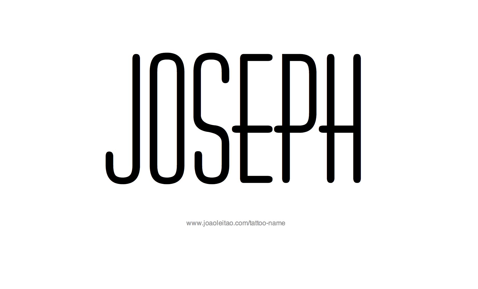 Image Gallery joseph name