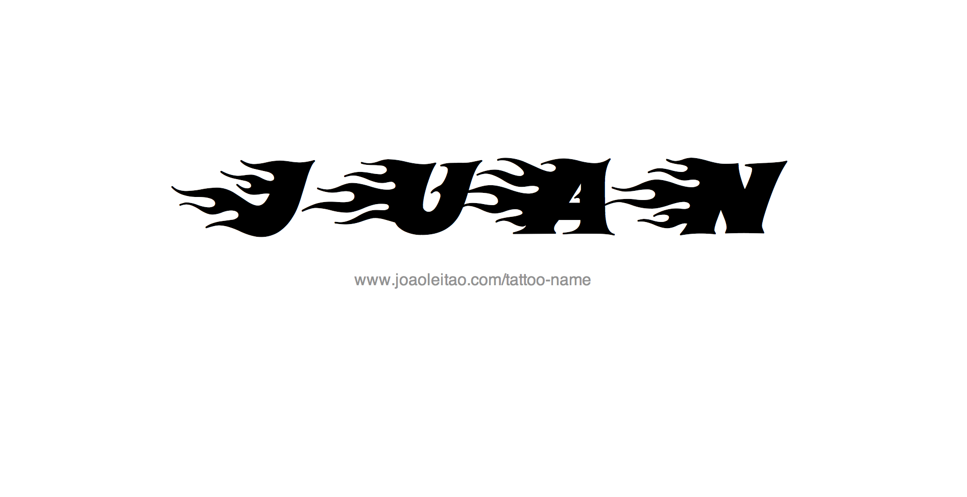 Juan Name Tattoo Designs