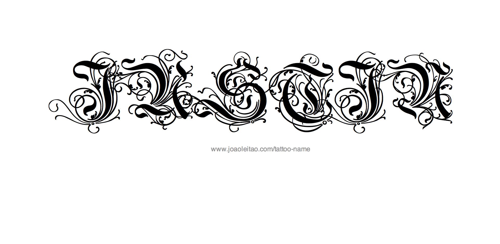 Name Justin Tattoos Justin Name Tattoo Designs