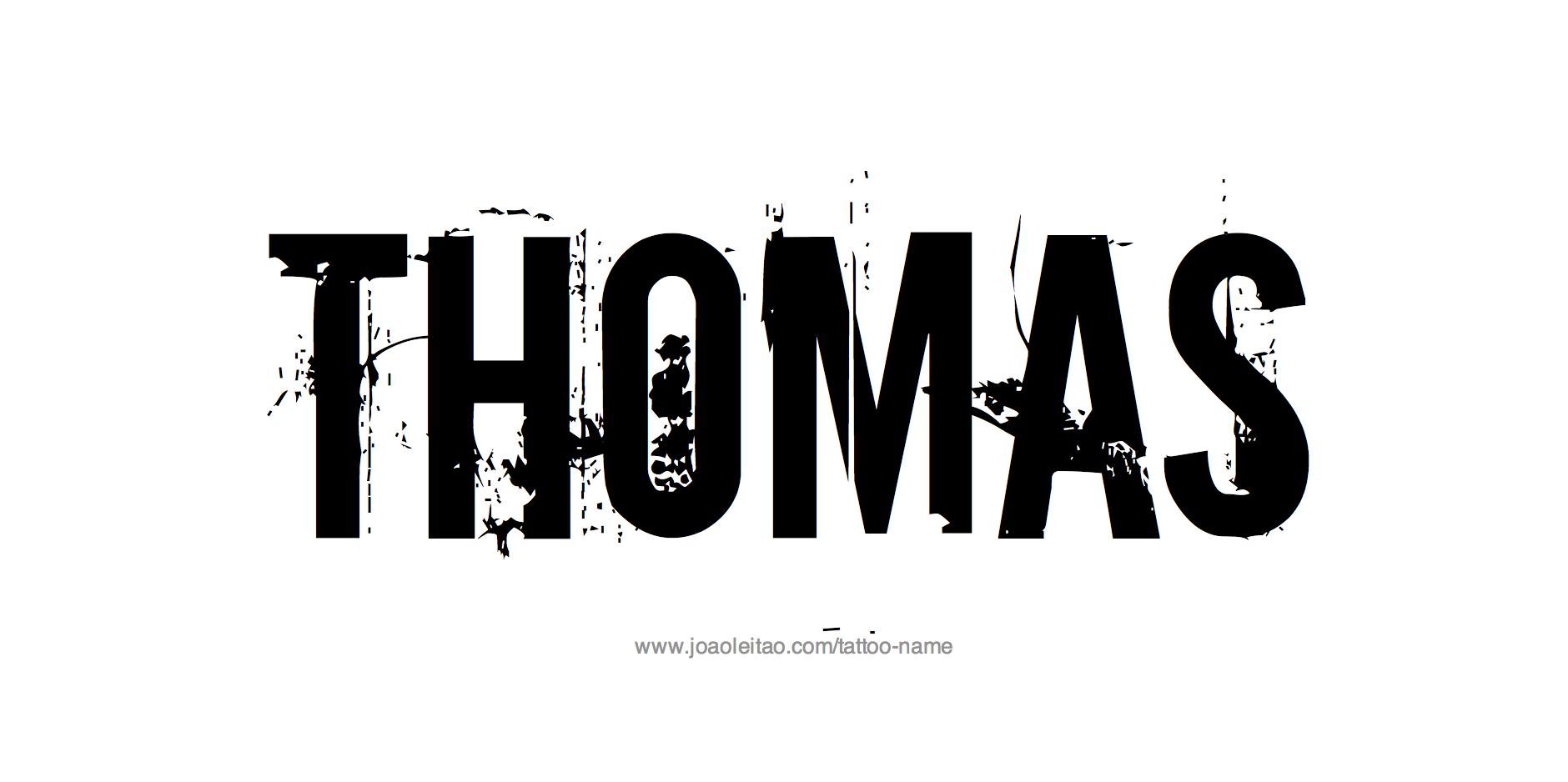 Image Gallery thomas name