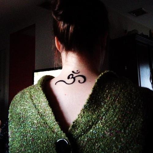 Arabic name tattoo designs - best girls neck tattoos ideas