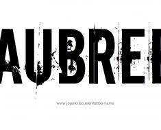 tattoo-design-female-name-aubree (4)